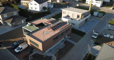 Flachdach-Photovoltaikanlage-Niederwil-Contec-Montagesystem